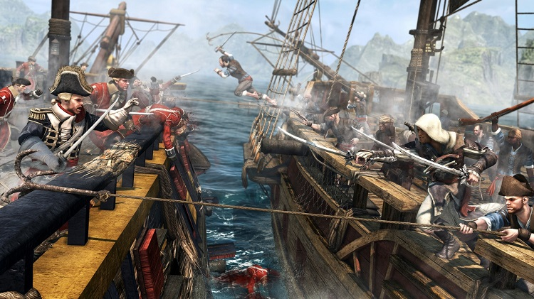 AssassinsCreedBlackFlagCoseupBoatFight