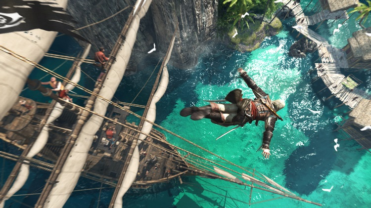 AssassinsCreedBlackFlagDive