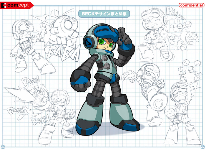 Keiji Inafune Shows off Mighty No. 9 Early Alpha