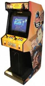 streetfighter arcade